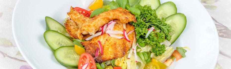 Sałatka cesarska z kurczakiem