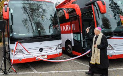 Mobilny Punkt Poboru Krwi, catering, Arcybiskup Henryk Hoser