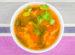 Zupa warzywna z kolendrą i pomidorami