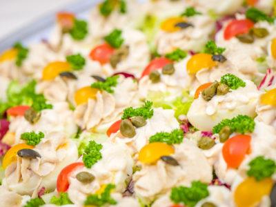Jaja faszerowane pastami rybnymi