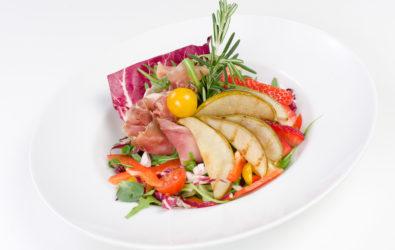 Miks sałat z grillowaną
